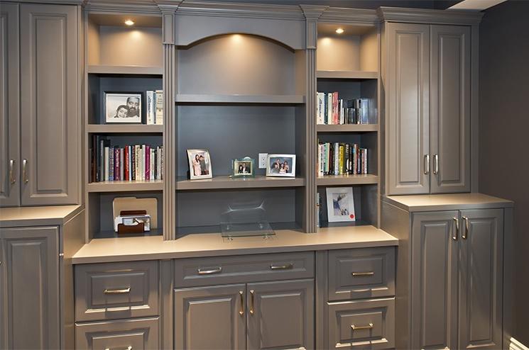 Custom Cabinet & Shelving Painting